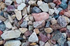 Гора камней стоковые изображения rf