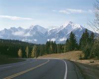 гора Канады columbia осени великобританская утесистая Стоковые Фото