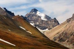 Гора Канады национального парка яшмы Стоковые Изображения RF