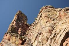 гора каньона утесистая стоковые изображения rf