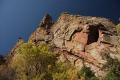 гора каньона утесистая стоковая фотография rf