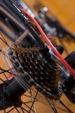 гора кассеты bike стоковое изображение