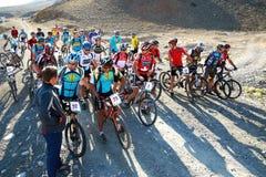 гора конкуренции bike Стоковая Фотография RF