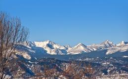гора континентального divide утесистая стоковое изображение