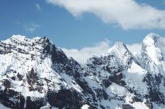 гора кордильер высокая Стоковые Фото