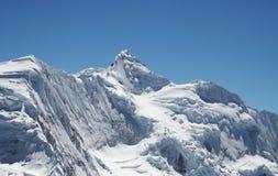 Гора кордильер снега Стоковая Фотография