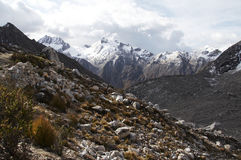 Гора кордильер Стоковая Фотография