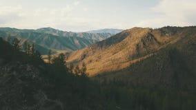 Гора красоты 4K видеоматериал
