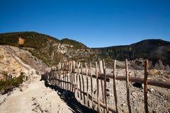 гора кратера Стоковая Фотография