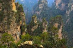 гора крутая Стоковое Изображение RF
