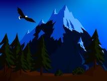 гора ландшафта одичалая стоковая фотография