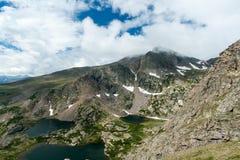гора ландшафта озер colorado Стоковые Фотографии RF