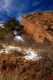 гора ландшафта пустыни стоковое изображение rf