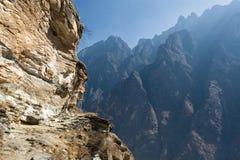 гора ландшафта фарфора Стоковые Изображения