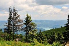 гора ландшафта Стоковое Фото