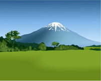 гора ландшафта иллюстрация штока