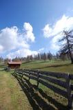 гора ландшафта дома Стоковая Фотография RF