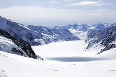 гора ледника Стоковые Изображения RF