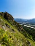 Гора лета поля Стоковая Фотография RF