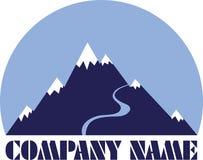 гора логоса Стоковое фото RF
