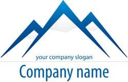 гора логоса Стоковое Изображение