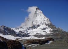 Гора Маттерхорн стоковое изображение rf
