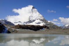 Гора Маттерхорн стоковое фото rf