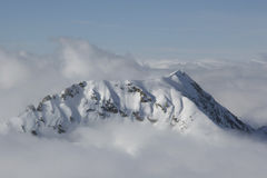 гора мистическая Стоковые Фотографии RF