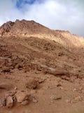 Гора Моисея, Синая Стоковая Фотография