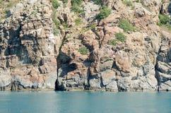 Гора морем Стоковое Изображение RF