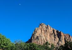Гора наблюдателя, национальный парк Сиона Стоковая Фотография RF