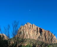 Гора наблюдателя, национальный парк Сиона Стоковые Фотографии RF