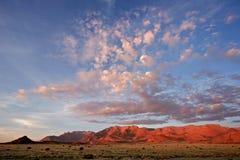 гора Намибия ландшафта пустыни brandberg Стоковые Фото