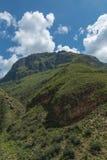 Гора на Бутане Стоковые Изображения