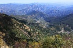 Гора на осени Стоковое фото RF