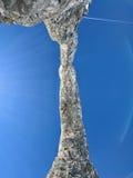 Гора на Tignes Стоковое Изображение RF