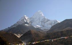 гора Непал dablam ama Стоковые Фото