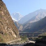 гора Непал ландшафта Стоковые Изображения