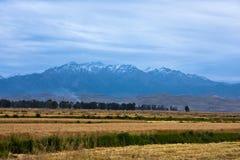 гора нивы qilian Стоковое фото RF