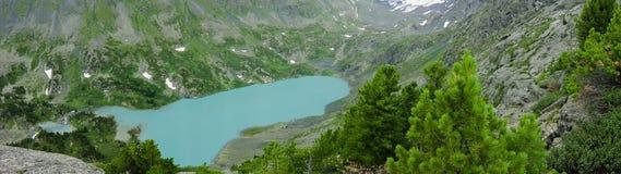 Гора нул на Altai Стоковые Изображения RF