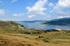 гора озера злаковика стоковая фотография