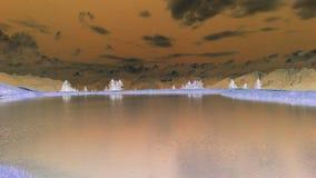 Гора озера Инсбрук Tirol Стоковая Фотография