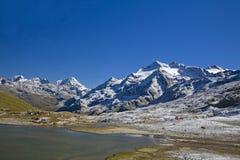 гора озера малая Стоковое Изображение RF