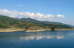 гора озера старая Стоковое Фото