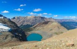 гора озера утесистая Стоковое Изображение