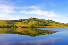 гора озера стоковая фотография rf