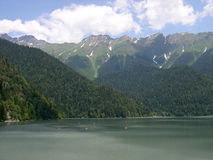 гора озера Стоковые Изображения