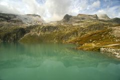 гора озера Стоковое фото RF