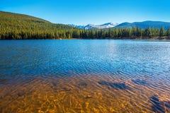 гора озера colorado Стоковое Изображение
