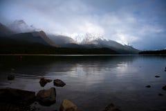 гора озер Стоковое Фото